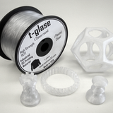 Taulman - Clear T-Glase PETT Filament - 1.75mm - Print Your Mind 3D
