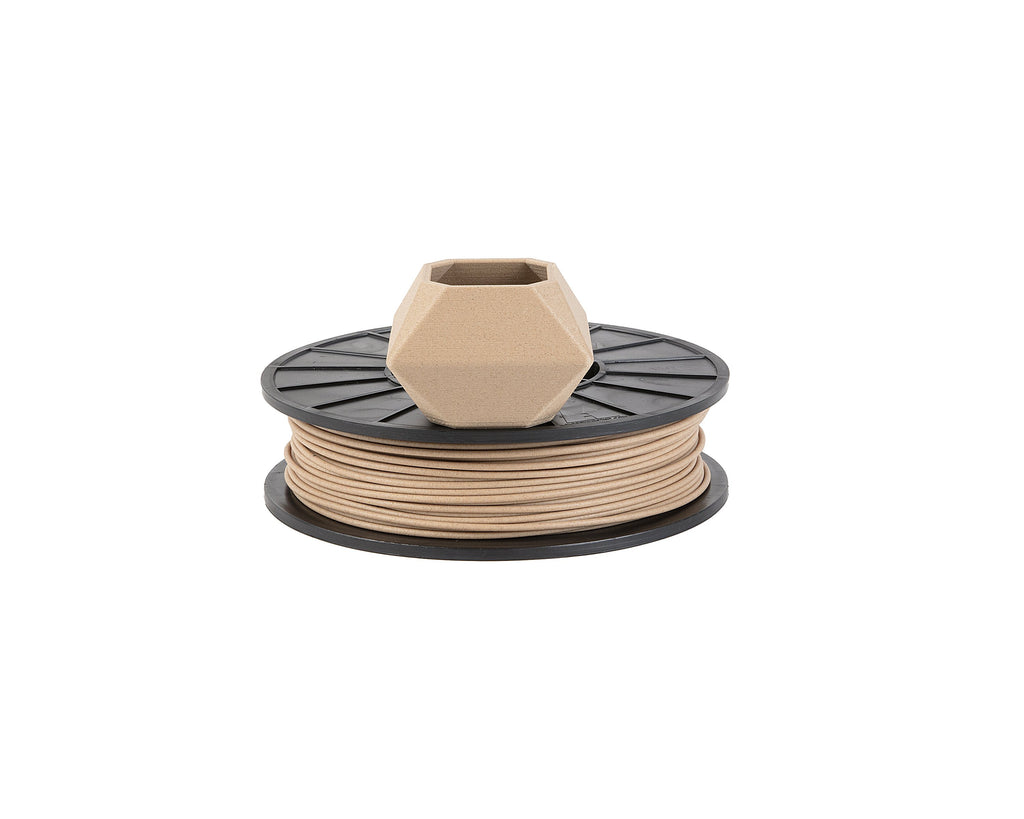 Print Your Mind 3D Woodfill Filament - 500g - Print Your Mind 3D