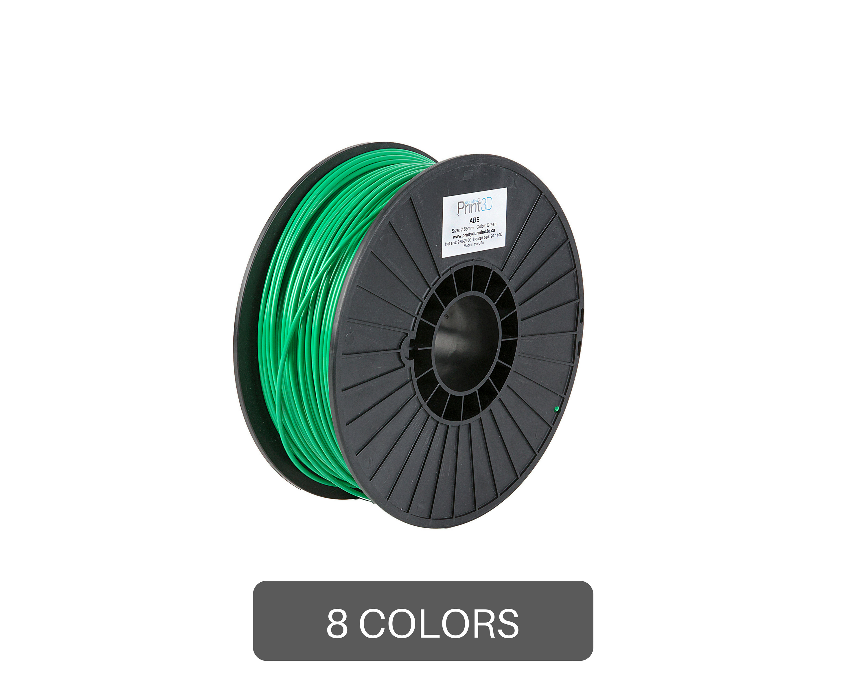 Print Your Mind 3d Abs Filament 1 Kg Electrical Wiring Usa Colors