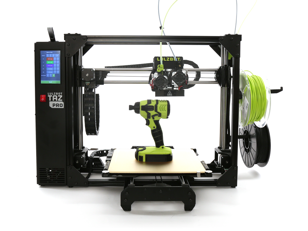 Lulzbot TAZ Pro 3D Printer - Print Your Mind 3D