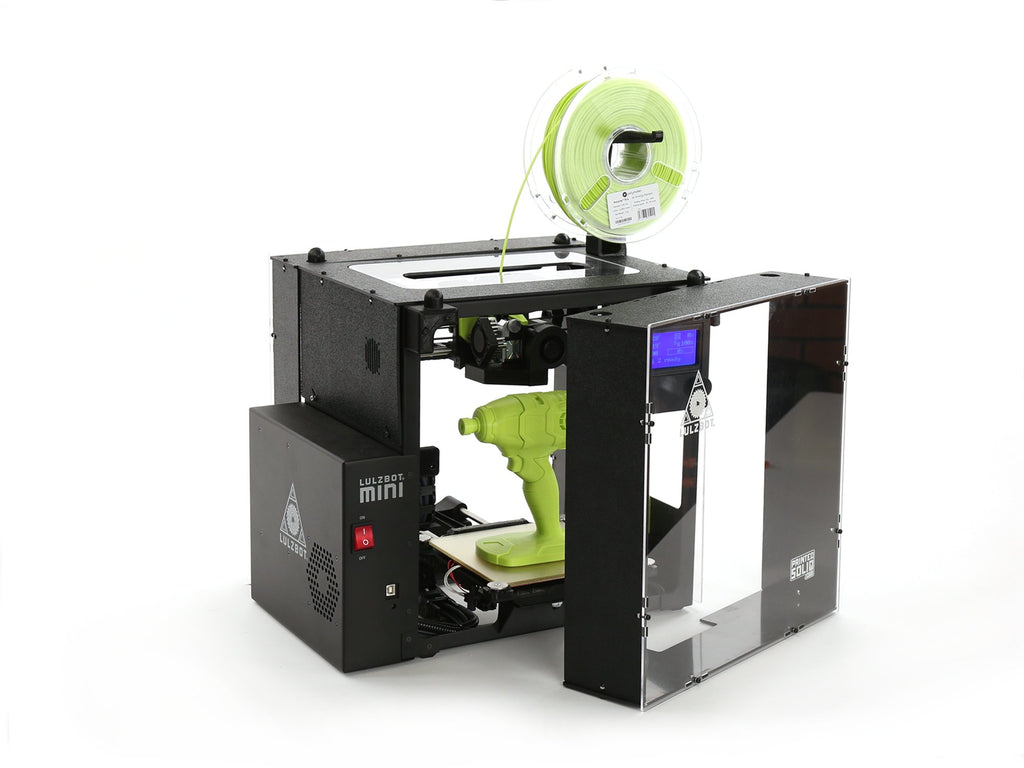 LulzBot Mini Enclosure V2 by Printed Solid - Print Your Mind 3D