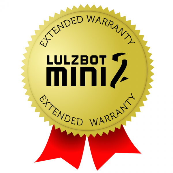 Lulzbot Mini 2 Extended Warranty - 1 Year