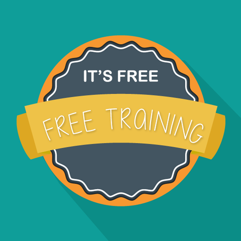 It's Free. Free Training logo.