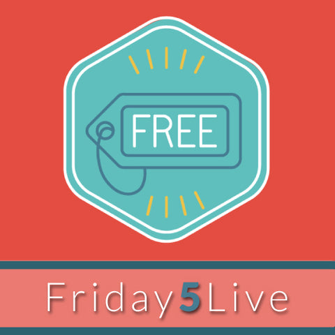 Friday 5 Live! Trends In Online Learning: Kicking Off National Distance Learning Week