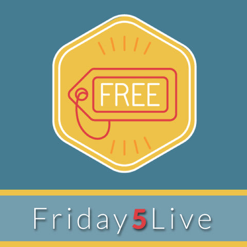 Friday 5 Live! Supporting Staff & Student Mental Health