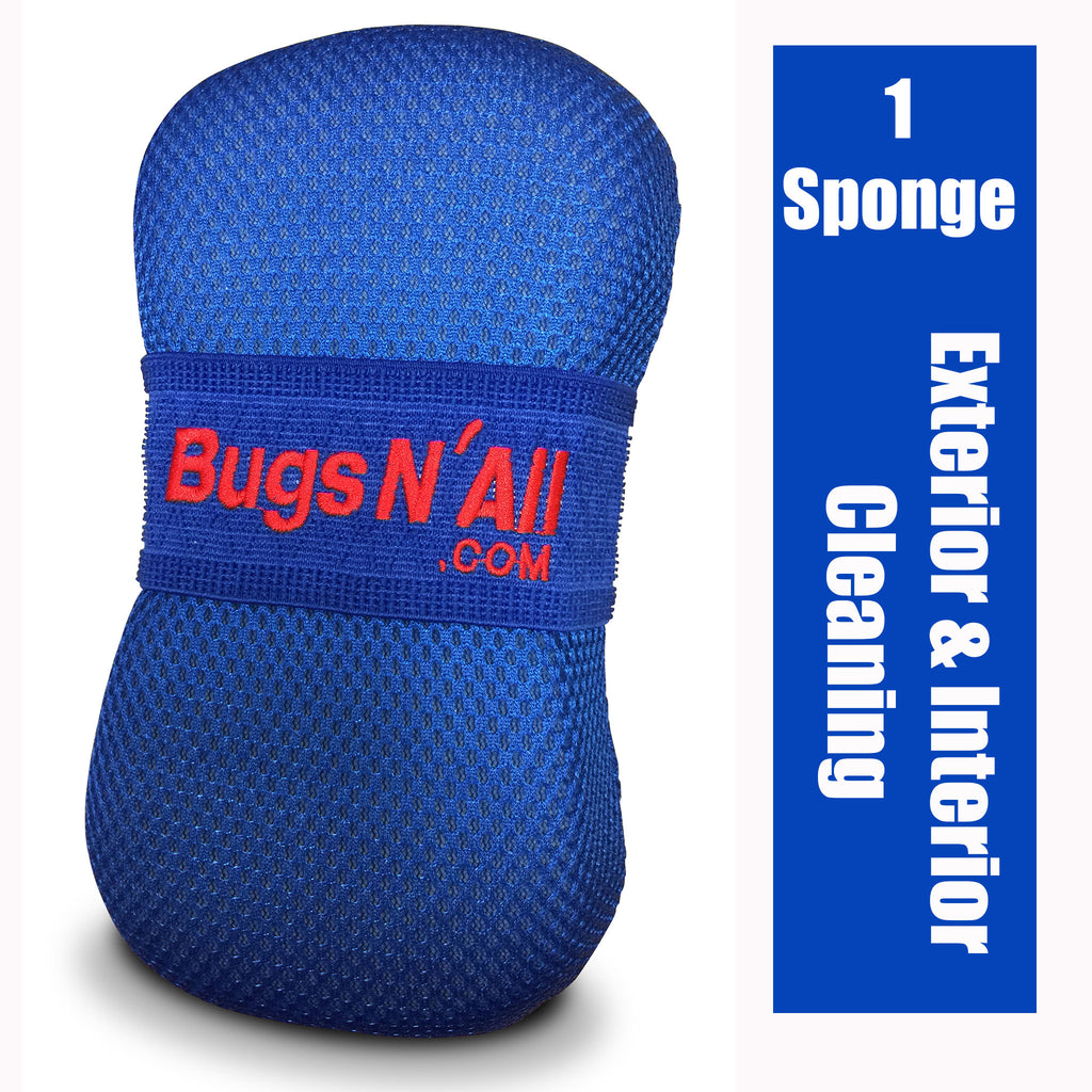 Bugs N All Car Care Soft Microfiber Mesh Bug Sponge