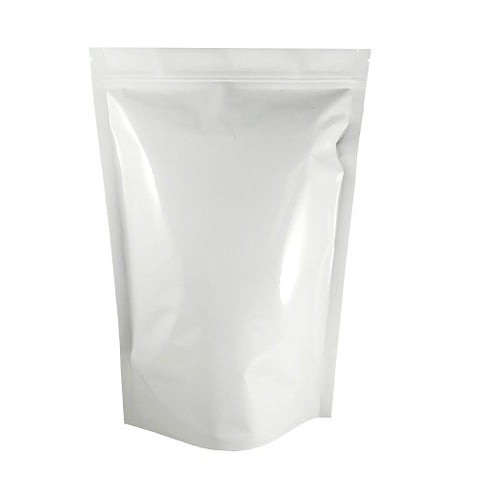 Four Ounce White Barrier Bag #8