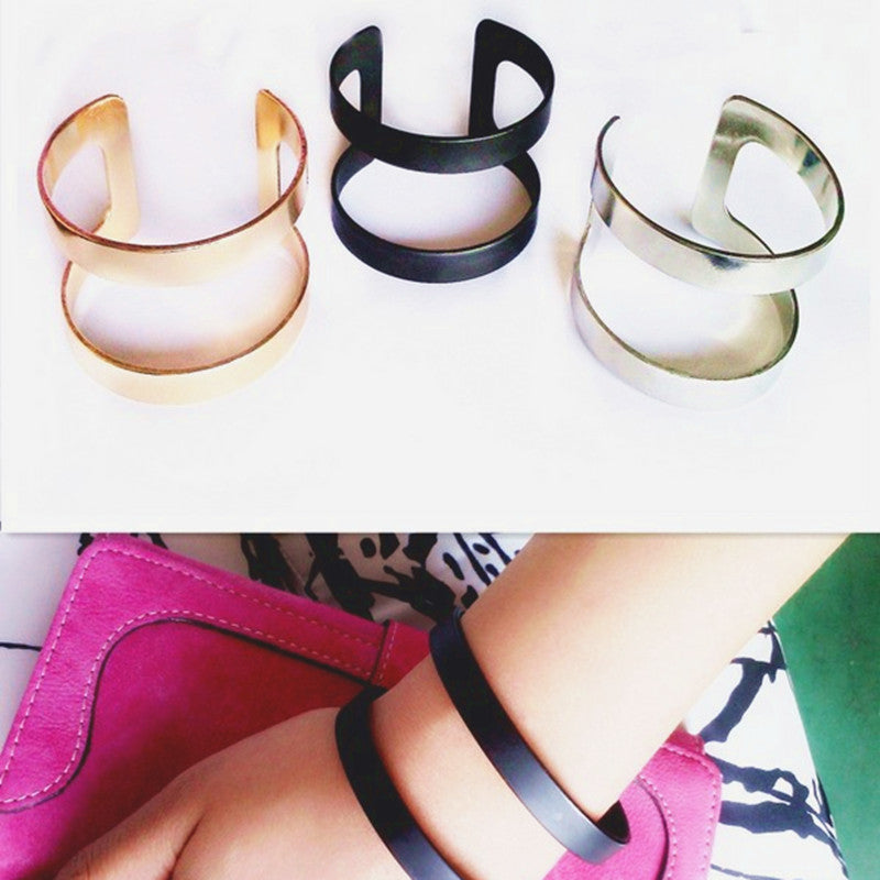 Punk rock fashion female bracelet