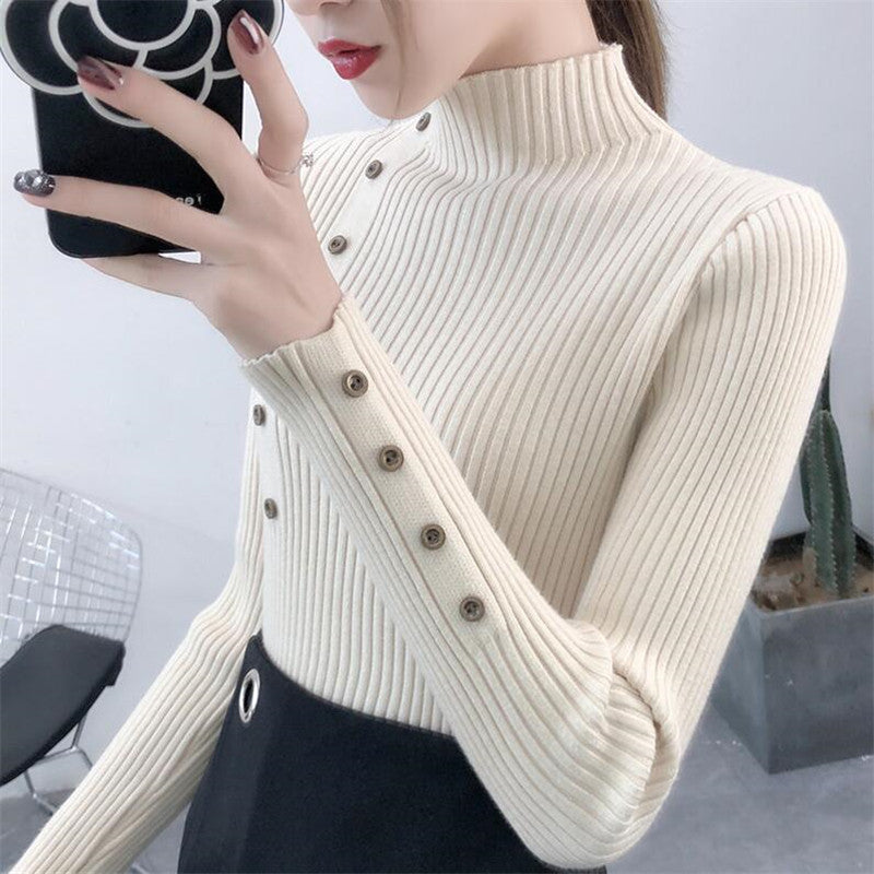 Women Autumn Knitted Sweater