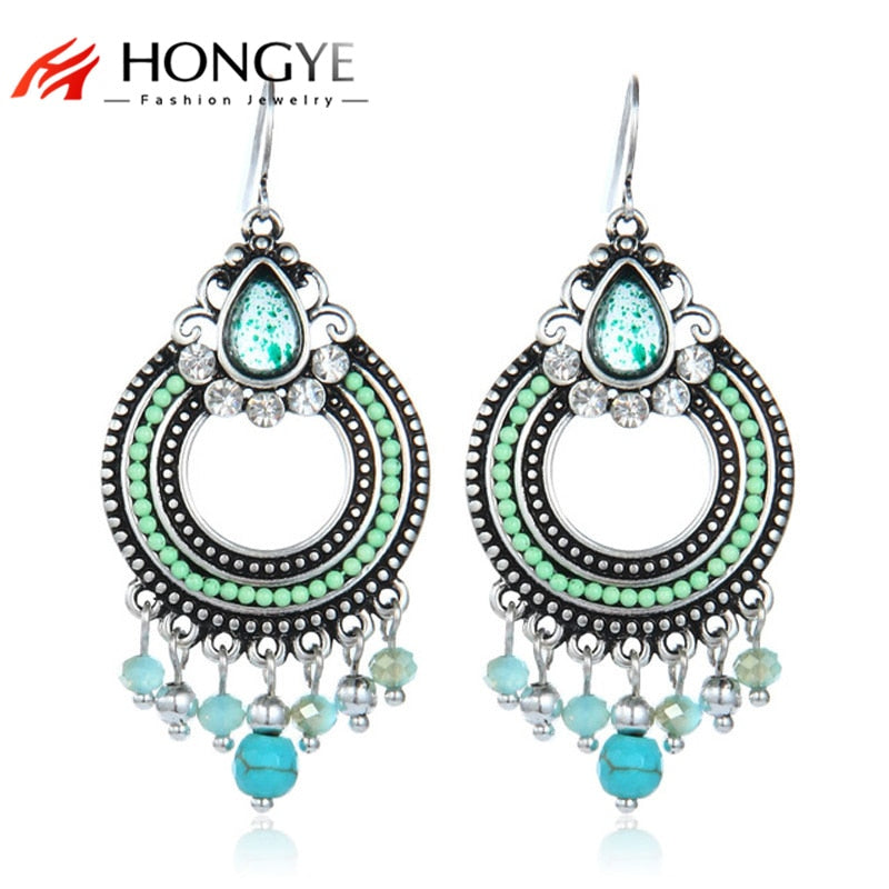Ethnic Drop Earrings for Women