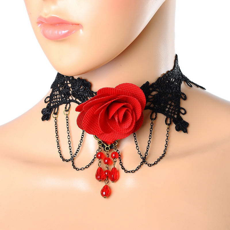 New Lace Tattoo Choker necklace