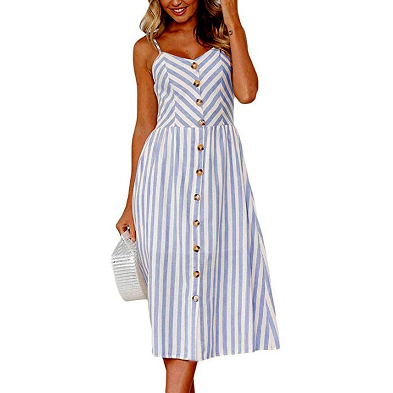 Vintage Casual Sundress 1