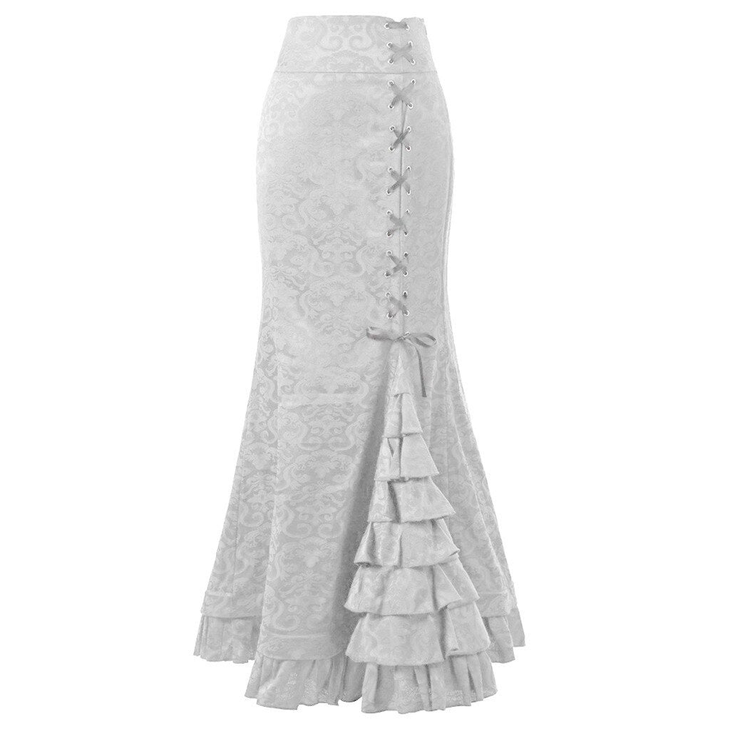 Women's Jacquard Sexy Fishtail Skirts