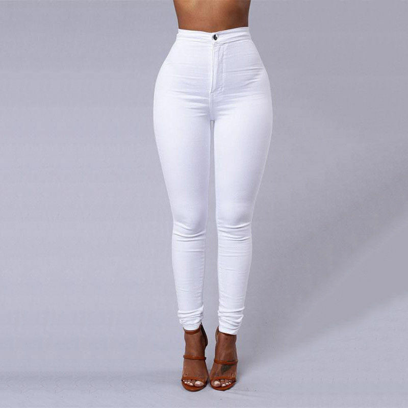 Womens Fashion Solid Leggings