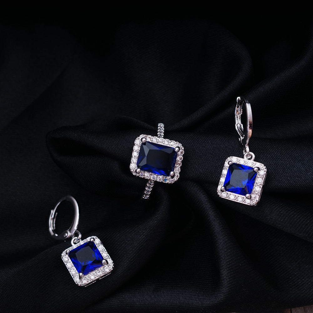Square Design Jewelry Sets