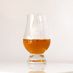 Glencairn Tasting Glass with Vintage, Etched SND Logo | Smugglers' Notch Distillery Online Store