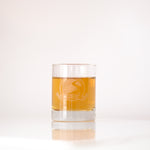 Classic Tasting Glass with Etched Vintage Logo, 3 oz. | Smugglers' Notch Distillery