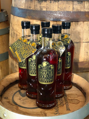 Six-Pack of 375mL Bourbon Barrel Aged Maple Syrup