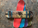 Bourbon-Barrel Skateboard Deck