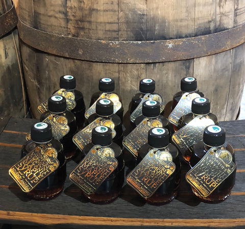 Bourbon-Barrel Aged Maple Syrup 12-Pack of 100mL Bottles