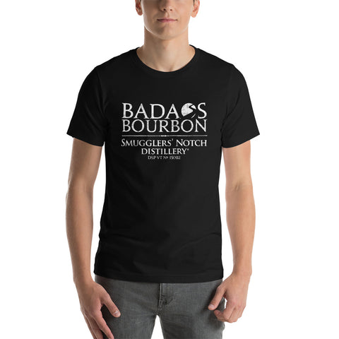 BADA$S BOURBON T-Shirt with White Logo