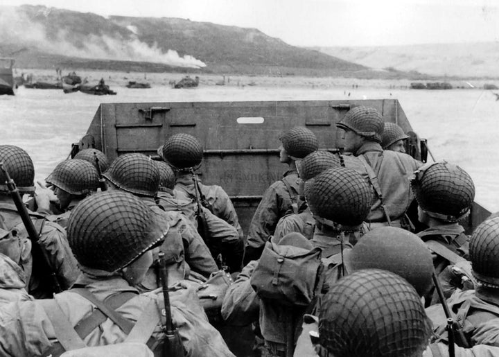 Beaches of Normandy Landings - June 6, 1944