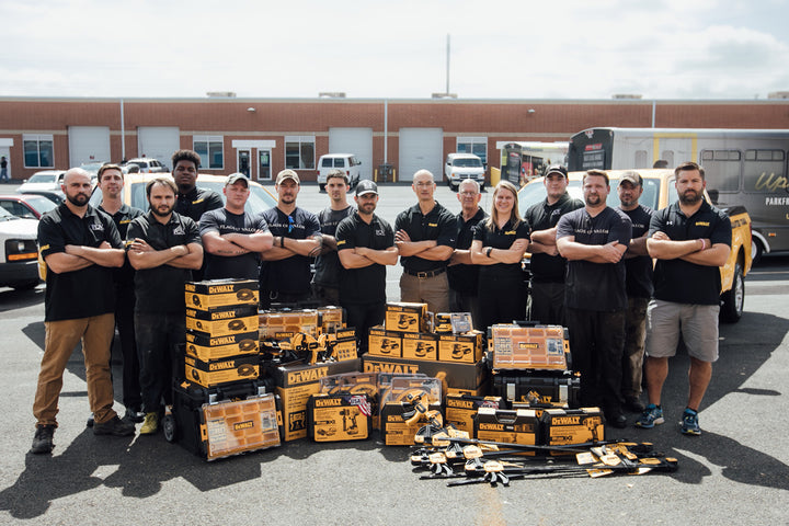 Flags of Valor and DEWALT tools - Made in America Matters