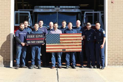 Operation Thank You:  Continuing the Mission with the Fairfax County Fire and Rescue Department