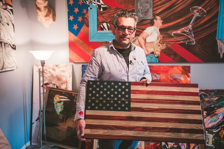 Giving Back Tour: A Flag for NYC Artist Scott LoBaido