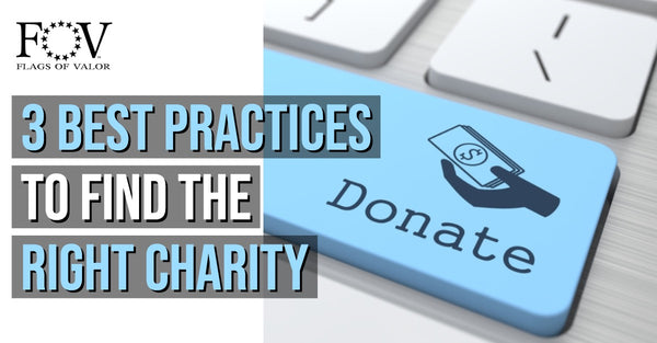 3 Best Practices to Find the Right Charity