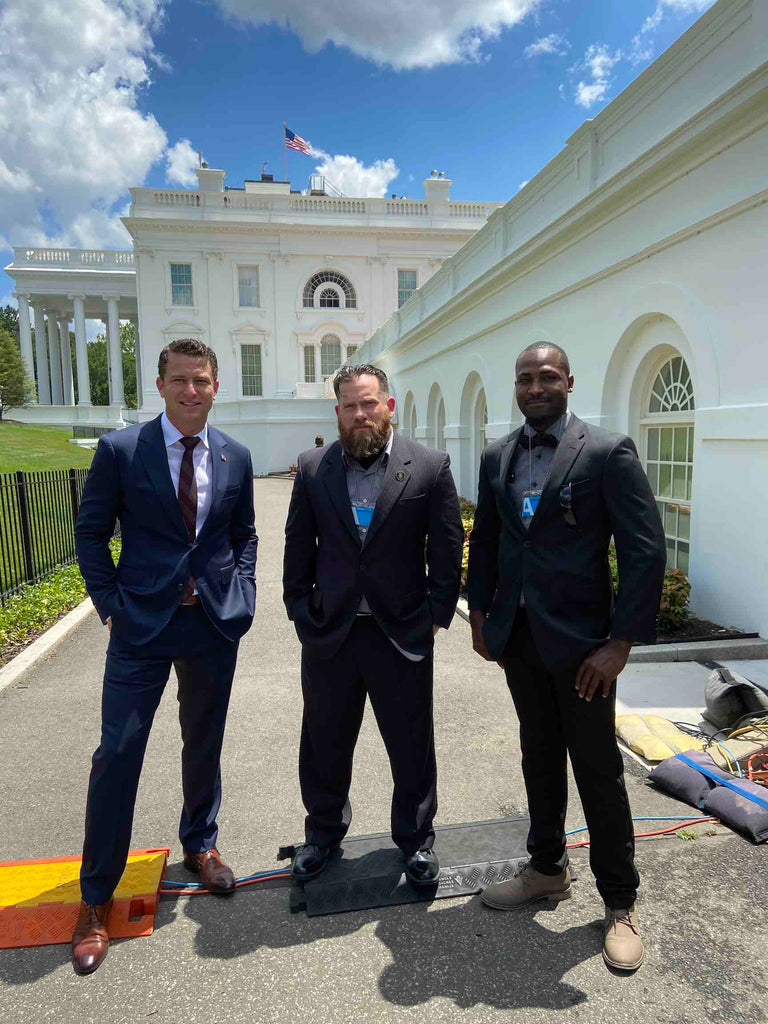 Team Flags of Valor at the White House