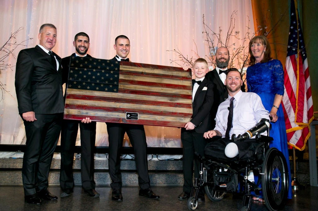 Flags of Valor donation raises $30,000 for PenFed Foundation