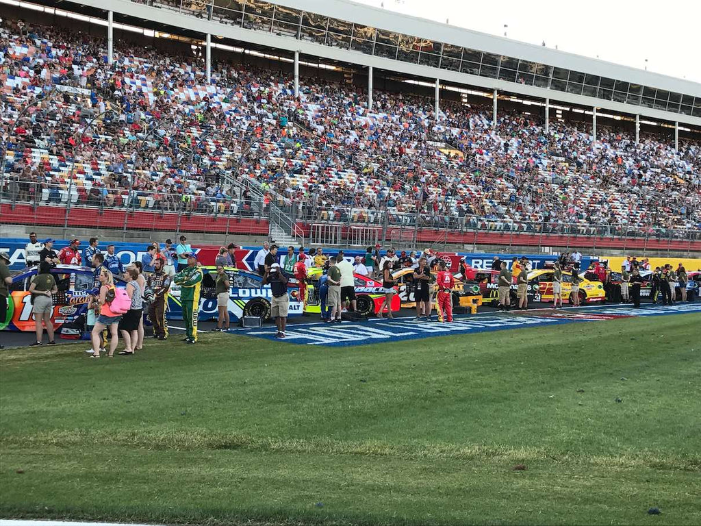 Getting ready for All Star Race start time