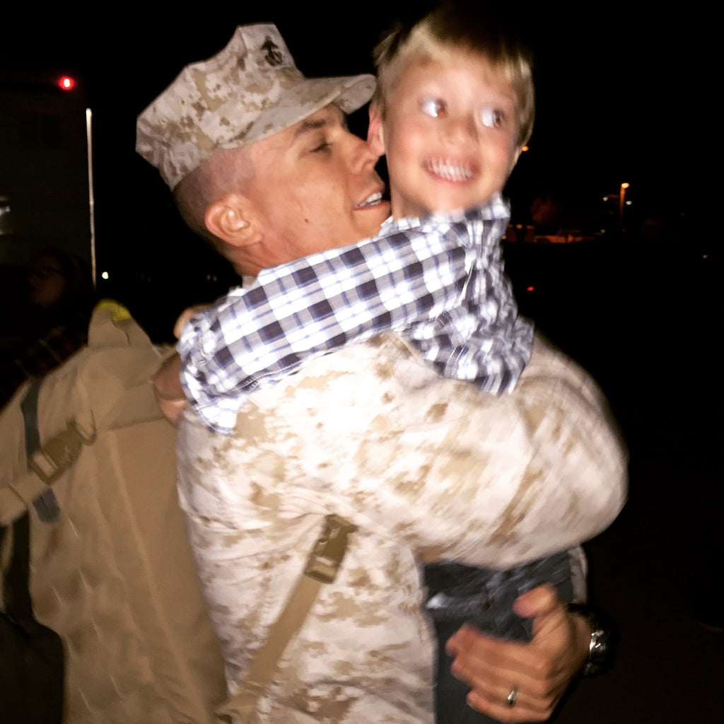 Welcoming your deployed marine home from war