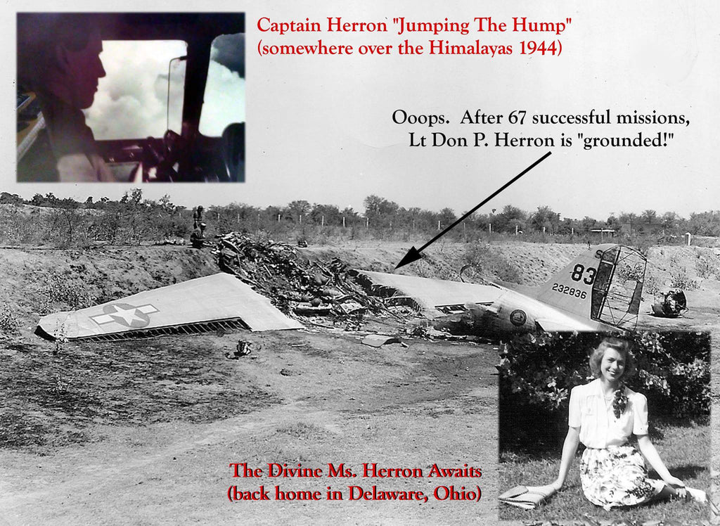 Don Herron Final Flight in WW2 - crash on takeoff