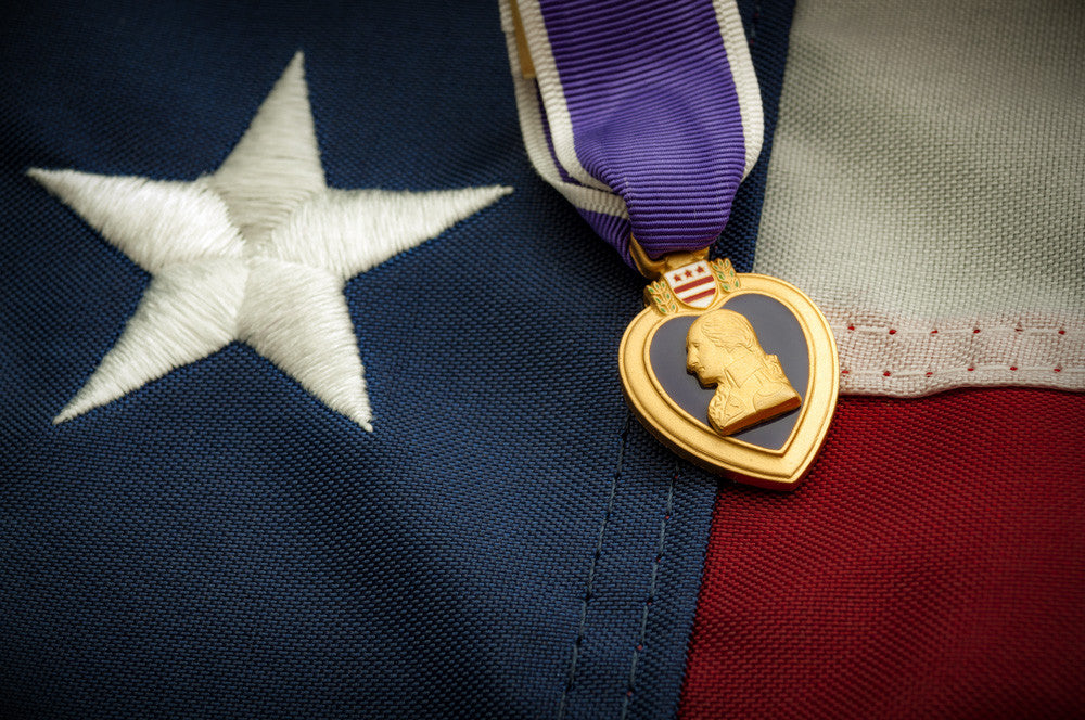 August 7 Purple Heart Day - Thank you from Flags of Valor