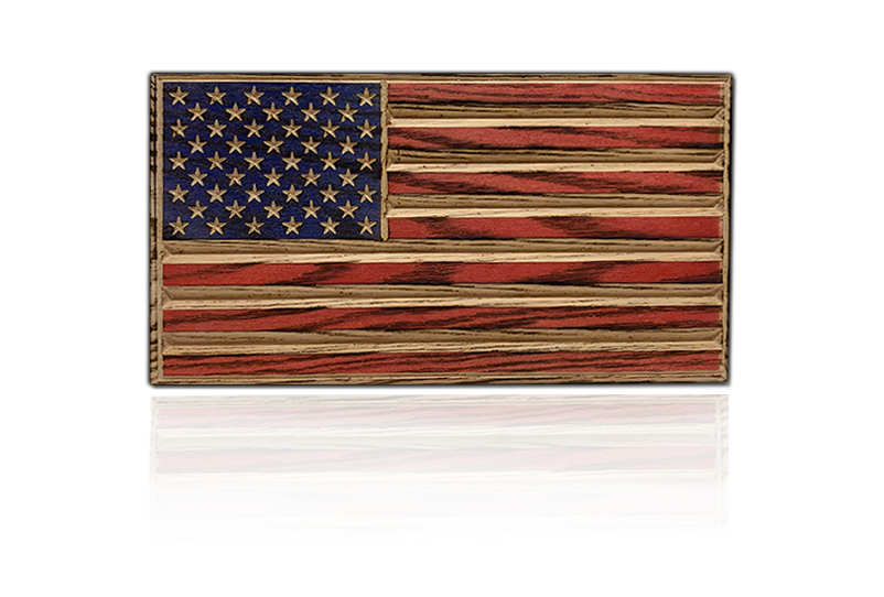 Old Glory Desk Flag