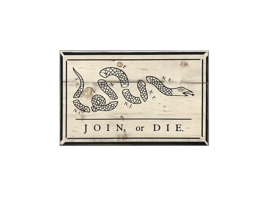 Join, or Die Flag
