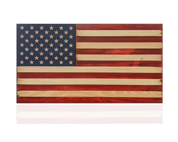 Liberty Series - Wooden American Flag