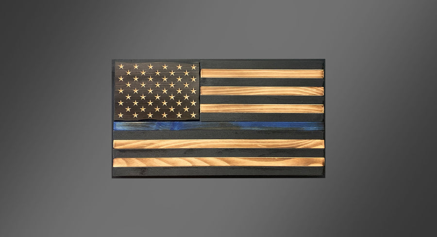 Personalized Homefront - Thin Blue Line