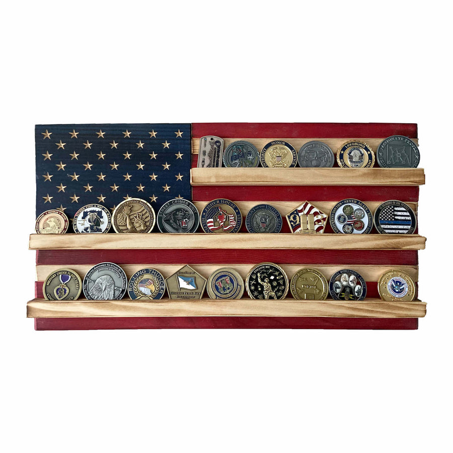 Coin Holder Flag