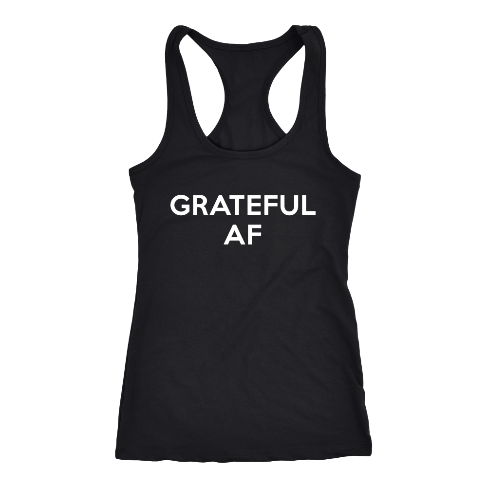 Grateful AF womens Tank
