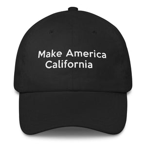 Make America California Baseball cap