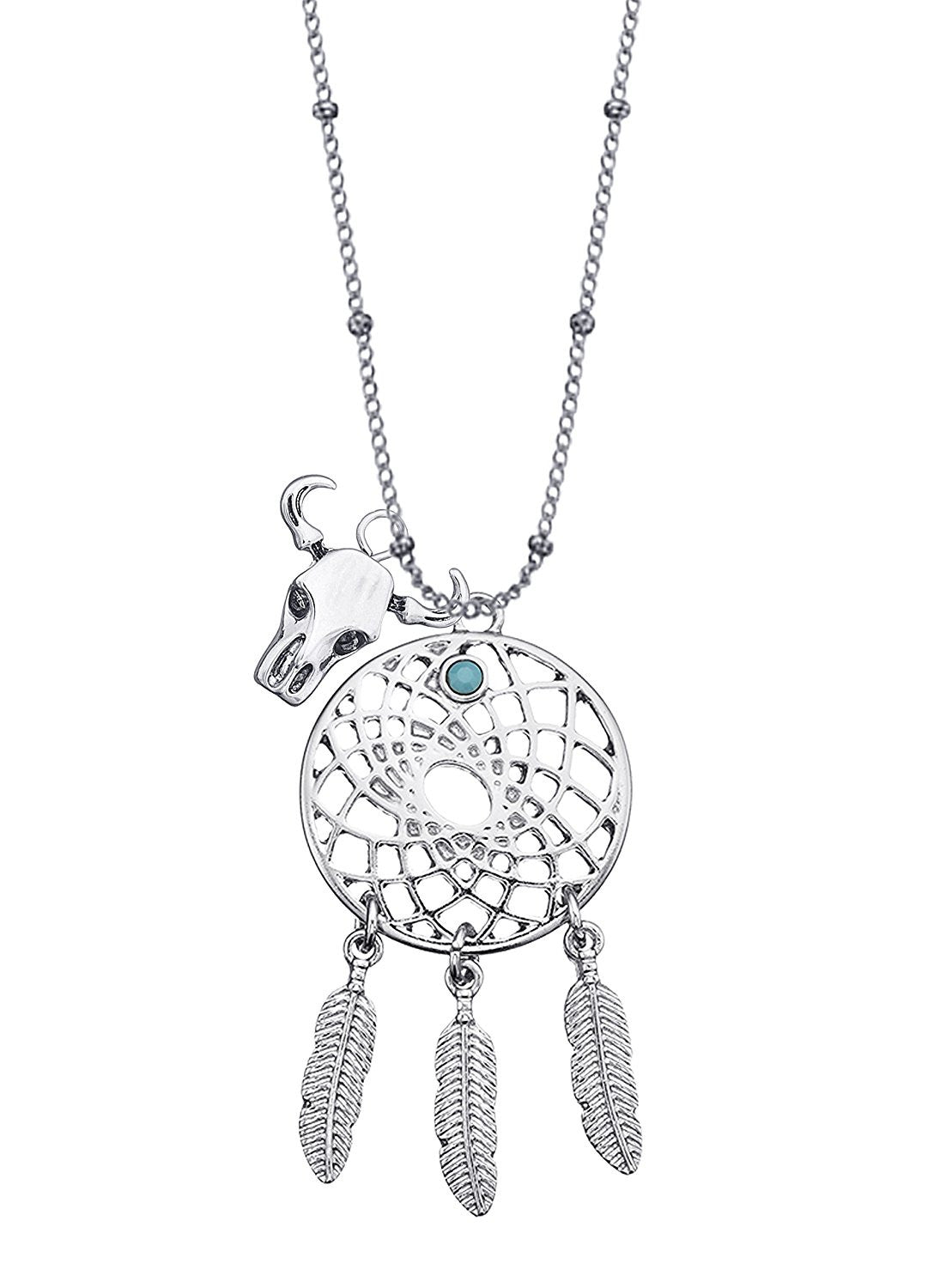 Dream Catcher Charm Necklace
