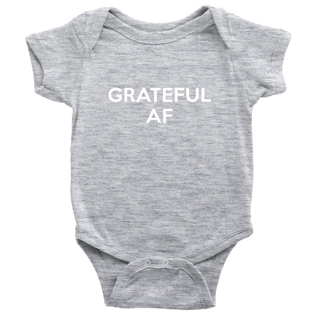 My Jewel Bar Grateful AF Baby Onesie - Baby Bodysuit