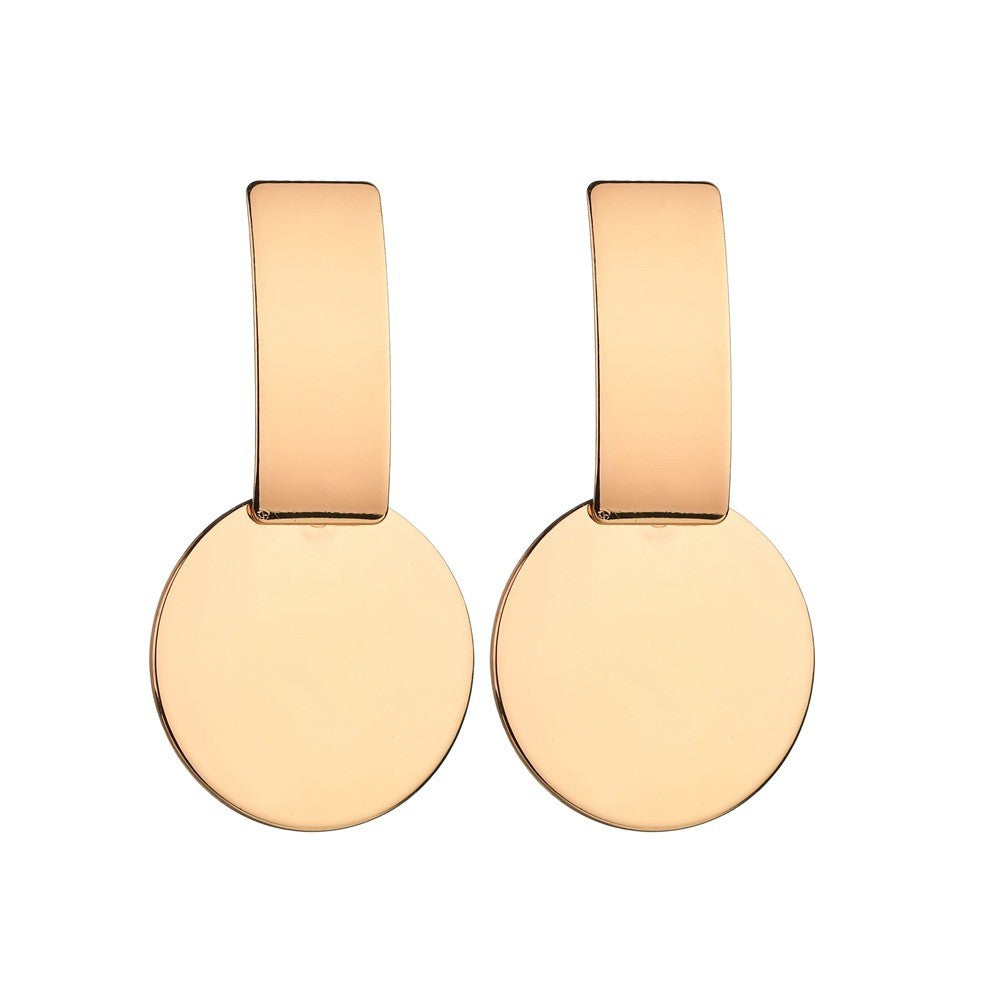 Kanok - Gold Mix Geometric Drop Earrings