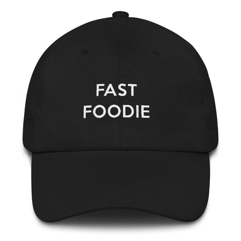 Fast foodie dad baseball cap
