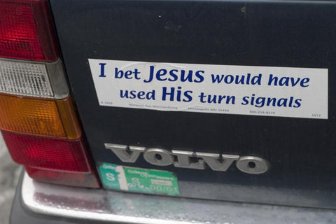 The History Of The Bumper Sticker