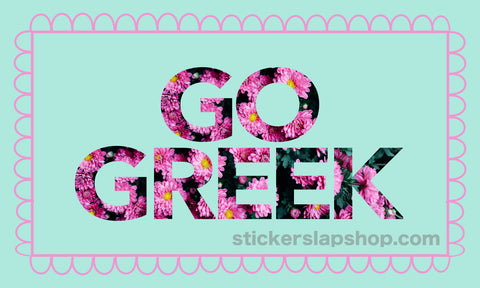 go greek