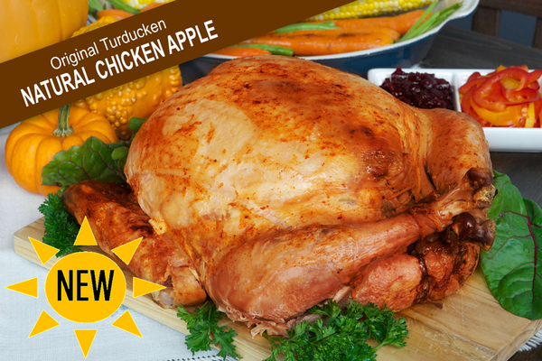 The Original Turducken - Natural Chicken Apple
